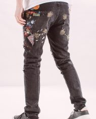 Pantaloni_blugi_barbati_diffrent_color_splashed_jeans_4